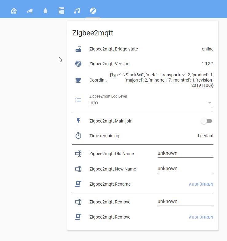 Zigbee2mqtt Integration in Home Assistant
